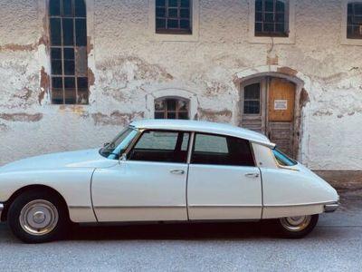 gebraucht Citroën DS 21 Pallas, neue Front, alter Tacho, dt. Mod.