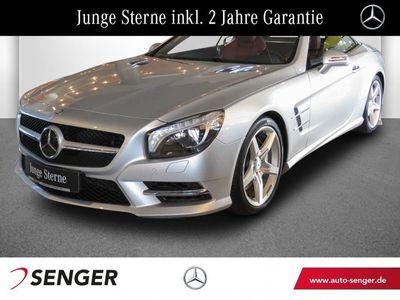 gebraucht Mercedes SL400 Roadster AMG Line Distronic Harman/Kardon