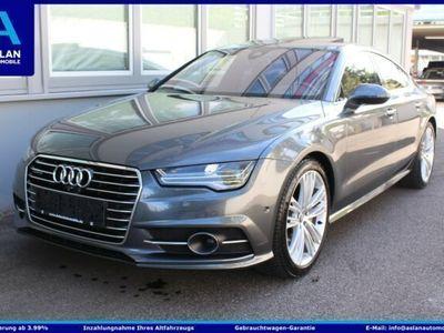 gebraucht Audi A7 3x S Line S-Sitz/Matrix/Bose/GshD/Luft/360/20