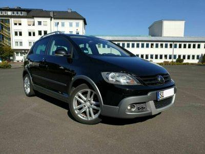 gebraucht VW Golf Plus Cross 1.4 TSI schwarz AHK, Si...