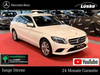 gebraucht Mercedes C220 d T 4M AVANTGARDE MULTIBEAM Kamera CarPlay