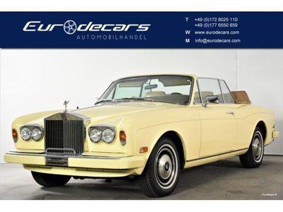 """second-hand Rolls Royce Corniche Convertible"""" Cabrio Version"""