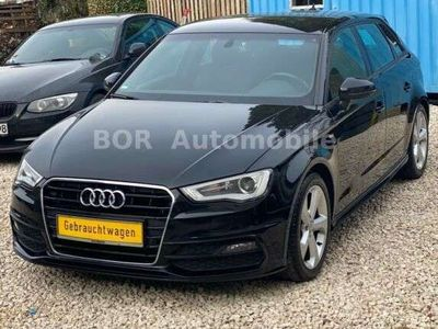 gebraucht Audi A3 Sportback S line Sportpaket/scheckheft/Navi/