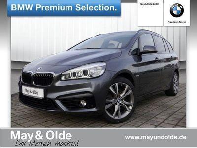 gebraucht BMW 218 Gran Tourer d A, Sport Line, Navi, LED,