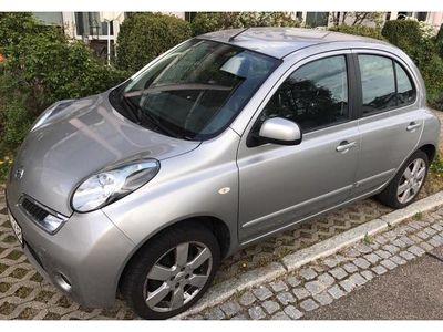 gebraucht Nissan Micra Way gehobene Ausstattung, Silber. 1,2