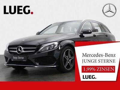 gebraucht Mercedes C350e T AMG+Navi+LED-HP+Airmatic+ParkAss+PTS++