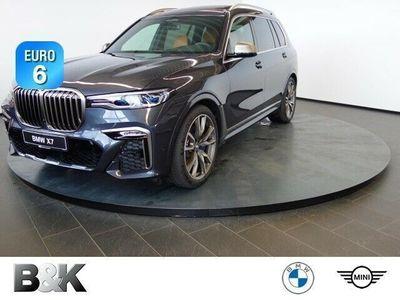 gebraucht BMW X7 M50d Vollleder Klima Luftfederung Standhzg