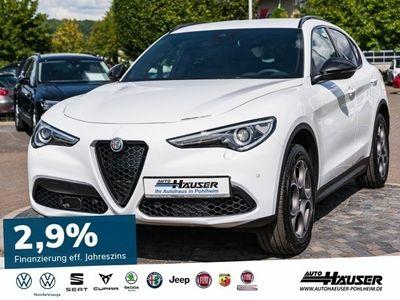 gebraucht Alfa Romeo Stelvio MY19 2.0 Turbo AT8 Q4 B-TECH NAVI KLIMA