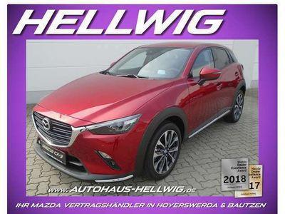 gebraucht Mazda CX-3 2.0l Selection Desingn-/Technik-Paket Bose 2021