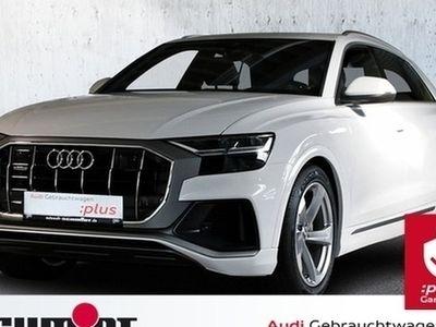 gebraucht Audi Q8 50 TDI quattro S line LM 21, AHK, BuO, Standhzg.,