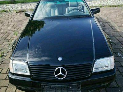 gebraucht Mercedes 300 MercedesSL R129 Unischwarz Neulack Tüv