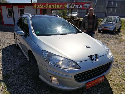 gebraucht Peugeot 205 407 SW HDiBi-Turbo * TÜV NEU * Navi * AHK *