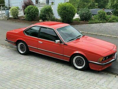 gebraucht BMW 628 e24 CSI Hennarot 16 M Technik Leder