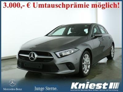 gebraucht Mercedes A220 Progressive+Comand+LED+DAB+Spiegel-Paket