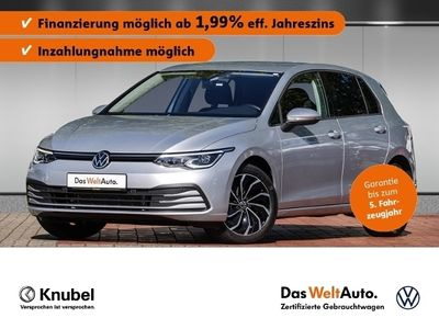 gebraucht VW Golf VIII Life 2.0 TDI DSG NaviPro LED+ ACC DAB+