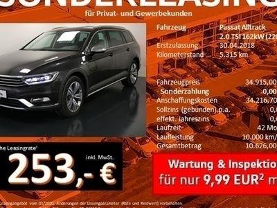 gebraucht VW Passat Alltrack Variant 2.0 TSI 4M DSG LED Navi AreaView