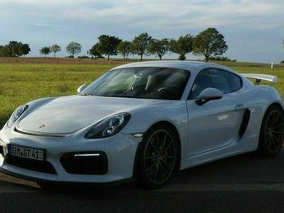 gebraucht Porsche Cayman GT4 Approved Garantie! Carbon/Chrono Pak