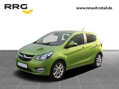gebraucht Opel Karl EXKLUSIV 1,0 Teilleder, 8-fach bereift