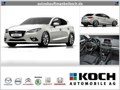 gebraucht Mazda 3 SKYACTIV-D 150 Sports-Line NAVI top (Xenon)