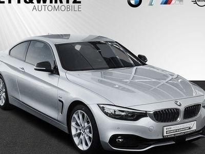 käytetty BMW 430 d Coupe Sport Line Autom LED Navi HUD PDC