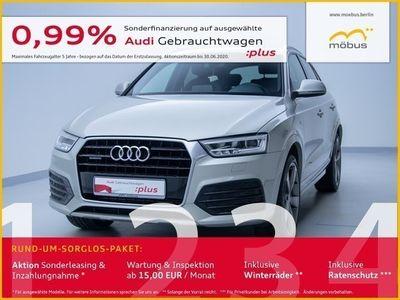 gebraucht Audi Q3 2.0 TFSI Sport S-TRO*SLINE*LED*NAV*AHK*NAV*BT