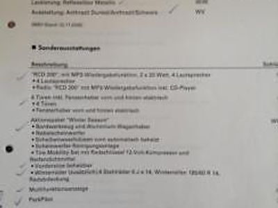 gebraucht VW Polo VWDiesel 1,9/100 PS silber, comfortl...
