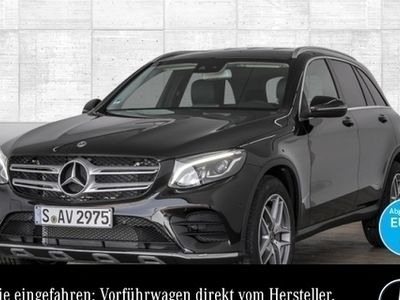 gebraucht Mercedes GLC250 4M AMG AHK Park Spiegel Navi LED Sitzh.