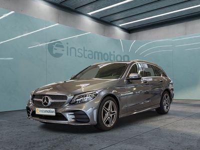 gebraucht Mercedes C180 C 180T AMG Line Multib Navi Kamera Spur-P.