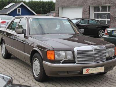 gebraucht Mercedes 300 SE braun Leder beige