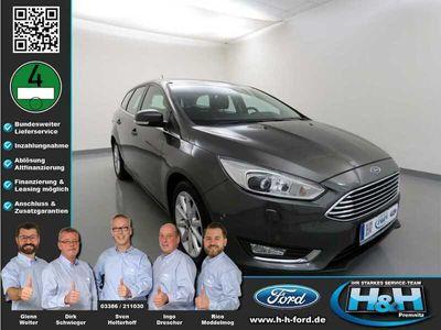 gebraucht Ford Focus Turnier 1.5 EcoB Aut. Titanium (AHK+Xenon)