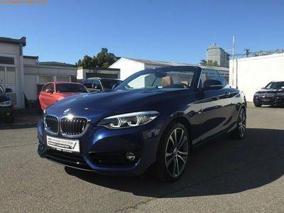 gebraucht BMW 230 i A Cabrio Sport Line Navi|MFL|PDC|SHZ|Leder