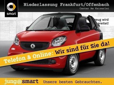 gebraucht Smart ForTwo Cabrio 52kW cool&Audio Direktlenkung