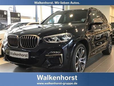 gebraucht BMW X3 M40d M-Sport Navi HiFi HUD DAB Glasdach LED