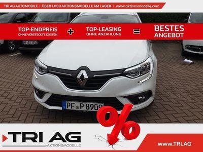 gebraucht Renault Mégane GrandTour Limited TCe 140 GPF Deluxe+Easy+Modularitäts Paket Navi Keyless Rückfahrkam.