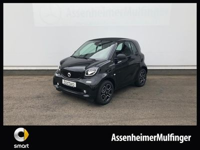 gebraucht Smart ForTwo Coupé 66kW turbo twinamic **passion/SHZ