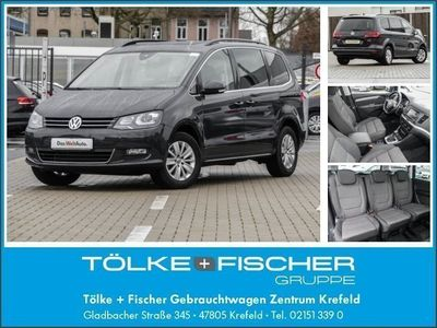 gebraucht VW Sharan Comfortline 2.0 TDI BMT 4Motion DSG
