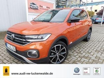 gebraucht VW T-Cross - 1.0 TSI Style DSG *NAVI*BEATS*ACC*