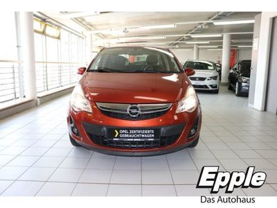 gebraucht Opel Corsa D 1.4 Twinport 150 Jahre Multif.Lenkrad NR Klima SHZ Temp CD AUX MP3 ESP Spieg. beheizbar