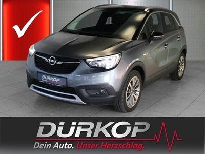 gebraucht Opel Crossland X INNOVATION 1.2 Turbo LED Navi Parklenkass. Rückfahrkam. Fernlichtass. PDCv+h