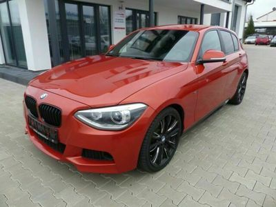 gebraucht BMW 125 Baureihe 1 Lim. 5-trg. i Leder Navi Alu M1