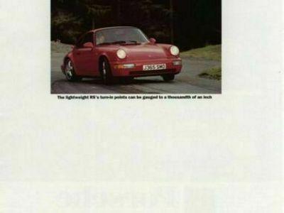 gebraucht Porsche 911 Carrera RS 964im Tausch gg 993RS oder 996...