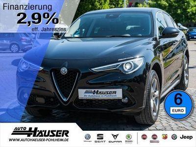 gebraucht Alfa Romeo Stelvio Super 2.2 Diesel AT8 Q4 ACC 3D-NAVI XENON (Leder K