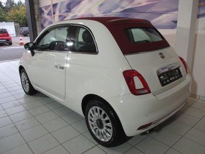 gebraucht Fiat 500C 1.2 Cabrio Lounge Klima PDC Alu USB Telefon