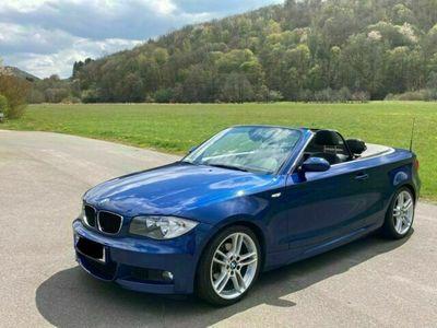gebraucht BMW 125 Cabriolet i M Sportpaket 18 Zoll Service NEU