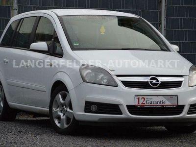gebraucht Opel Zafira B Navi*Standheizung*PDC*Tempomat*7 Sitzer