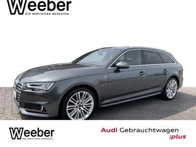 gebraucht Audi A4 Avant 2.0 TDI quattro S tronic sport NP63 S line