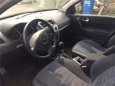 gebraucht Renault Mégane 1.9 DPF Euro4 Navi Xenon AHK Automatik 17 Zoll Al