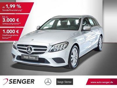gebraucht Mercedes C220 T d+AVANTGARDE+ADVANCED+AHG VORR.+9G+LED