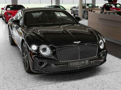 gebraucht Bentley Continental GT First Edition BLACK/RED MULLINER