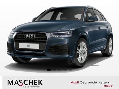gebraucht Audi Q3 S line 2.0 TFSI AHK LED Navi Leder PDCplus Ke S